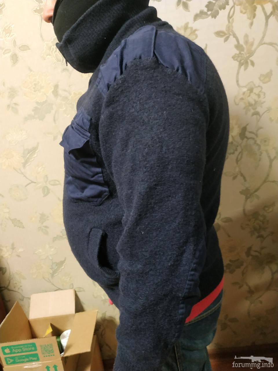 136489 - Светер в мілітарі стилі на блискавці