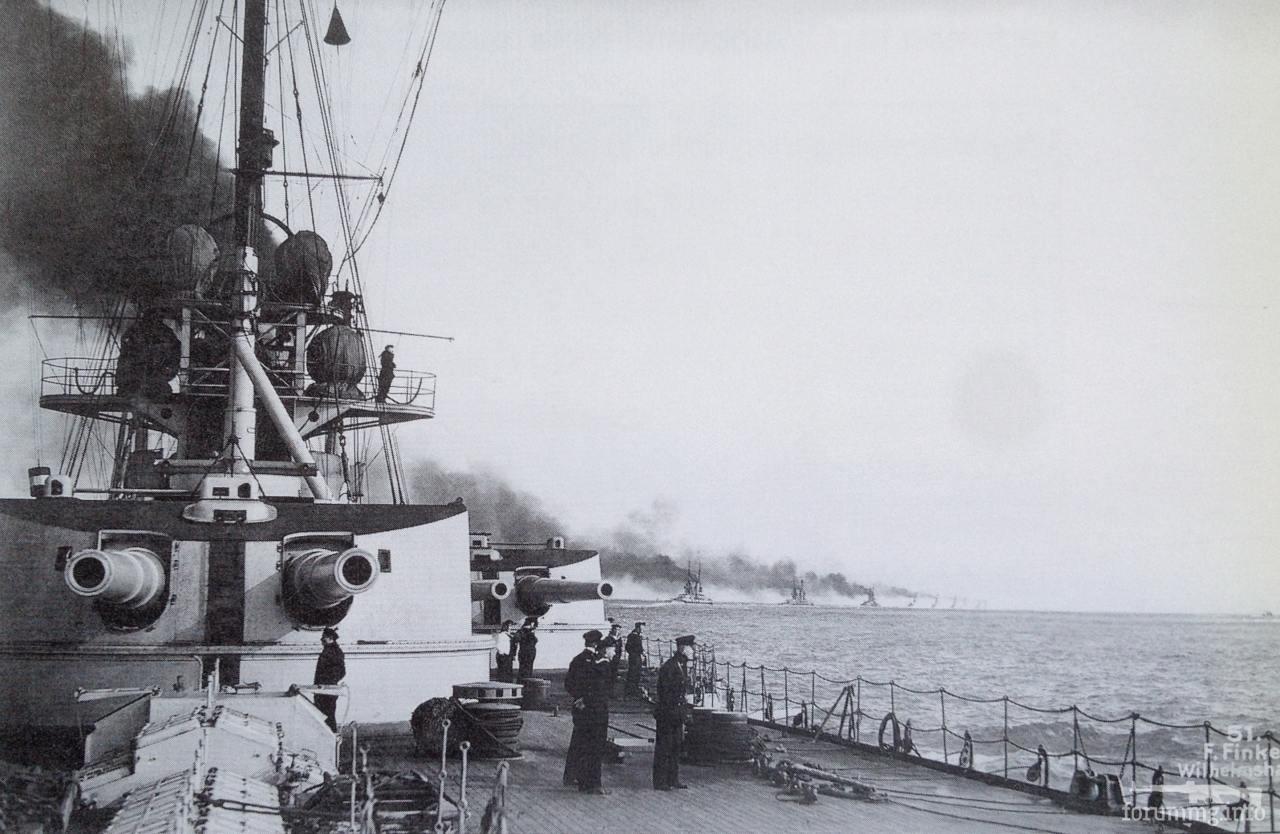 136528 - На палубе линкора SMS Friedrich der Grosse