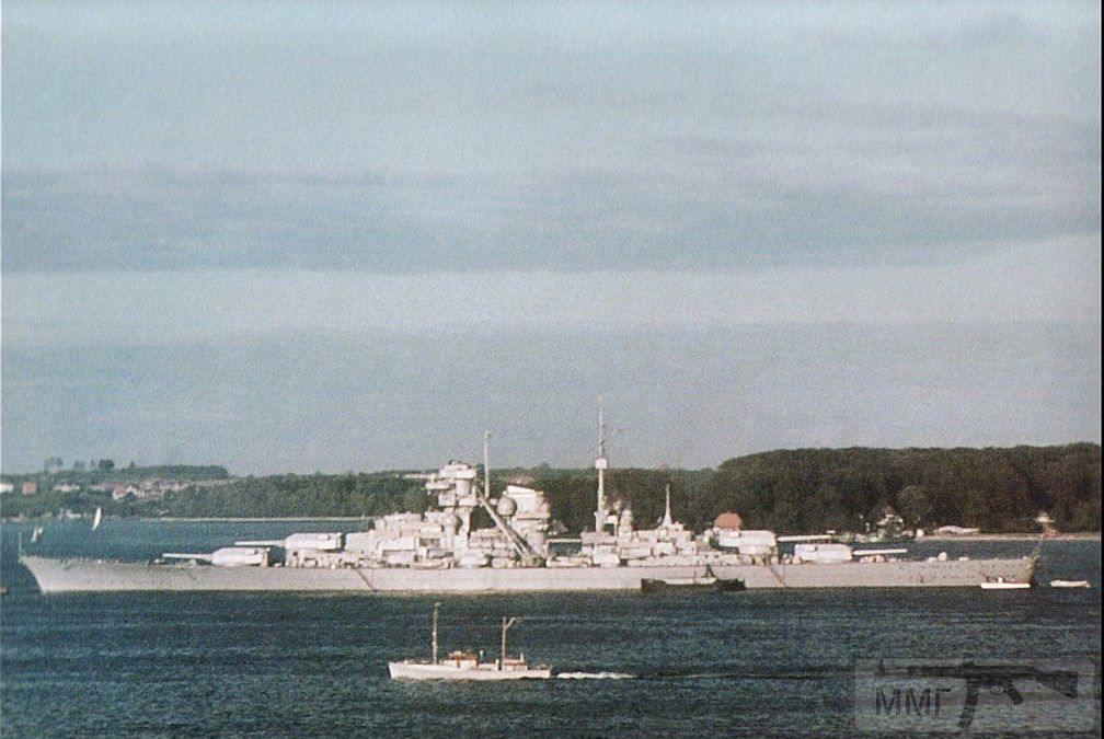 13756 - Линкор Bismarck, Киль, лето 1940 г.