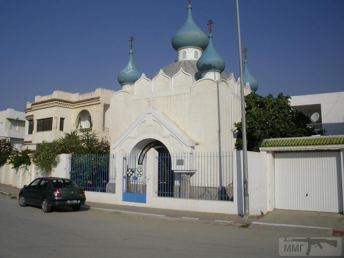 13819 - Храм Александра Невского, Бизерта, Тунис.