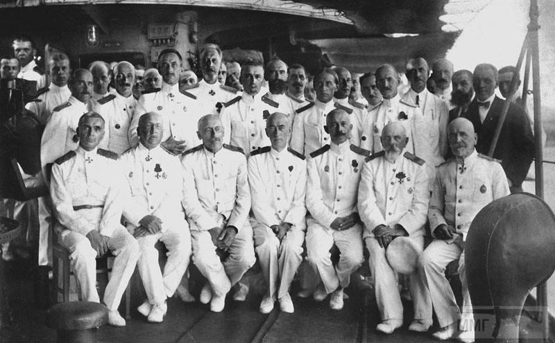 13820 - Командование Русской эскадры в Бизерте, 1921 г.