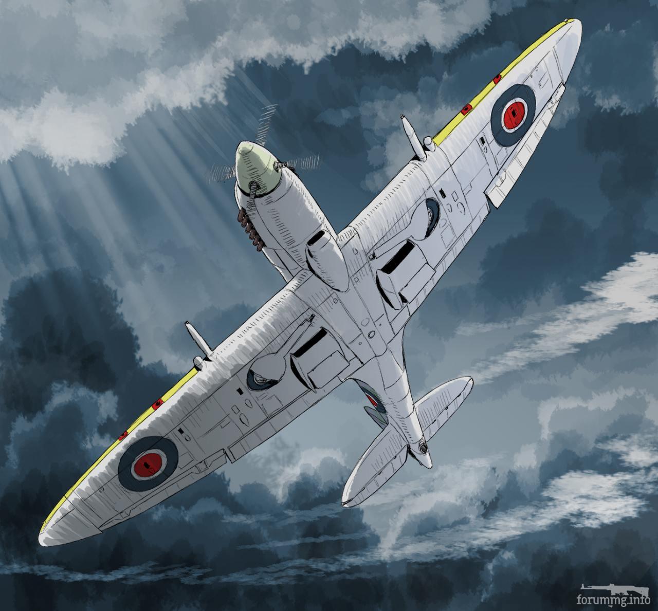 138346 - Художественные картины на авиационную тематику