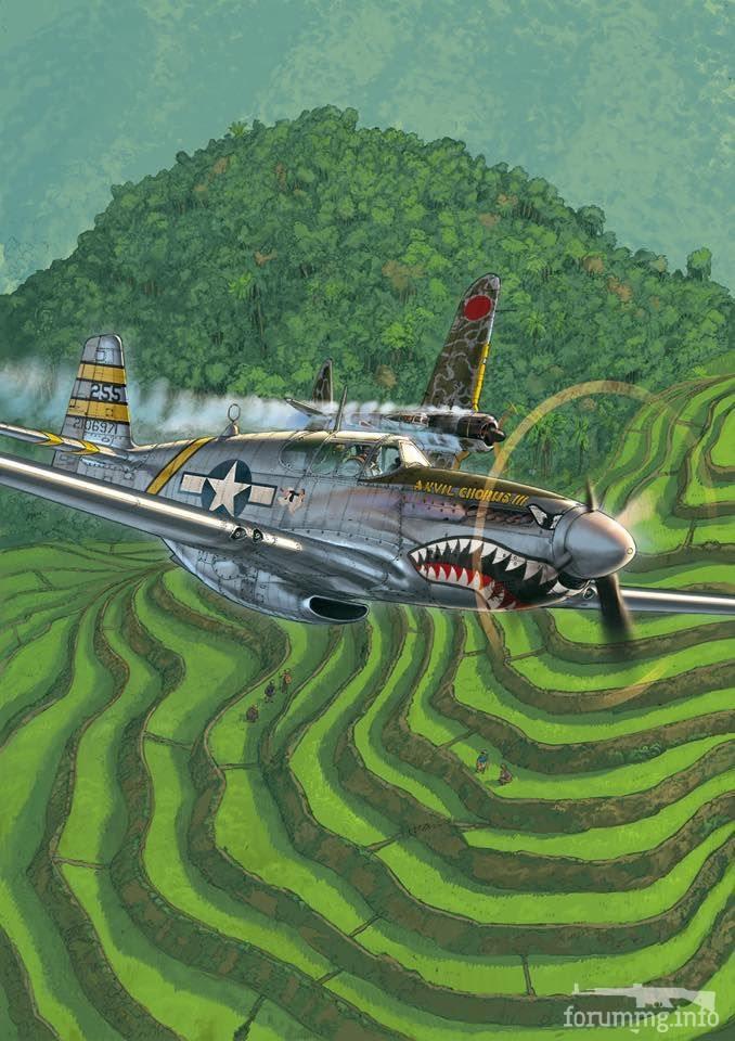 139192 - Художественные картины на авиационную тематику