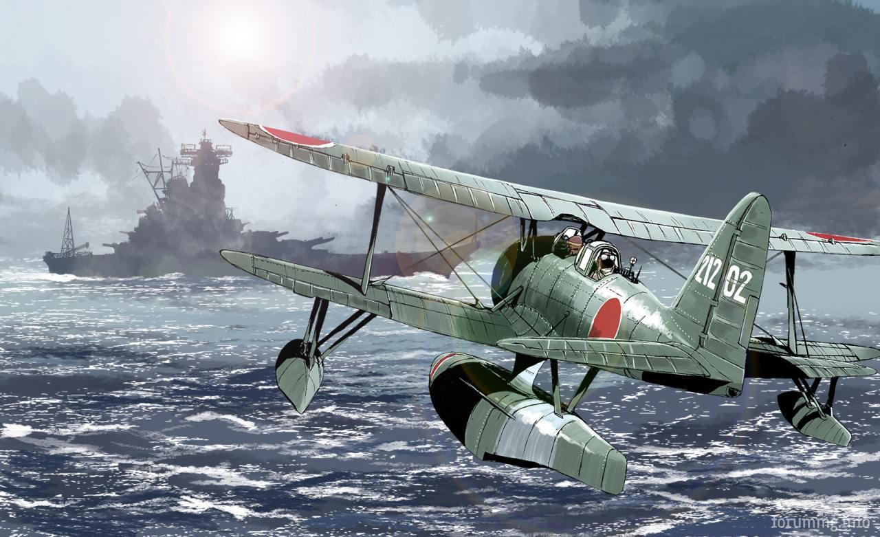 139205 - Художественные картины на авиационную тематику