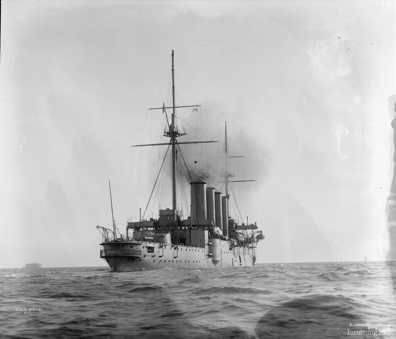 139409 - Броненосный крейсер HMS Drake