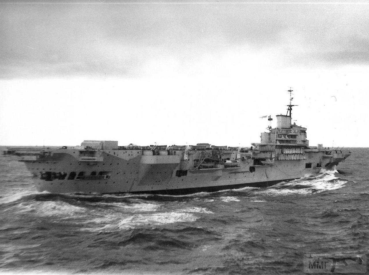 14014 - HMS Indefatigable, 1946 г.