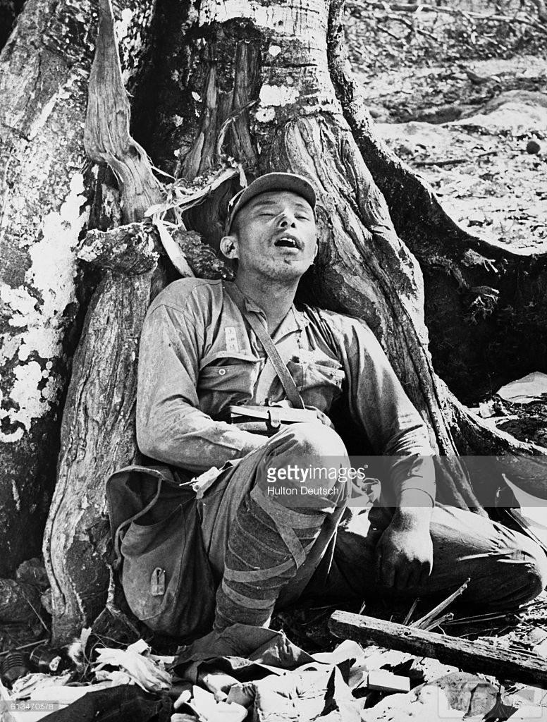 14235 - Военное фото 1941-1945 г.г. Тихий океан.
