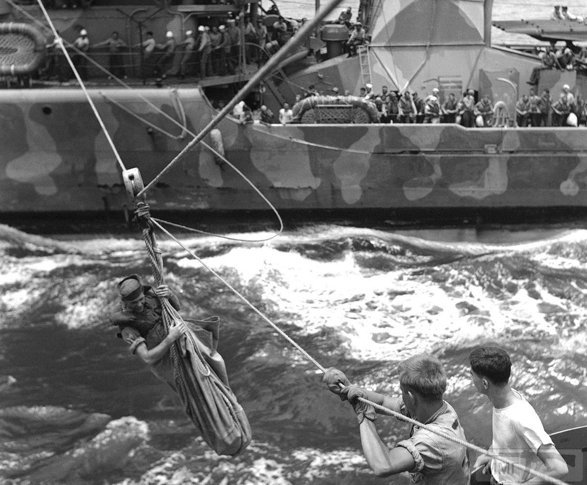 14245 - Военное фото 1941-1945 г.г. Тихий океан.