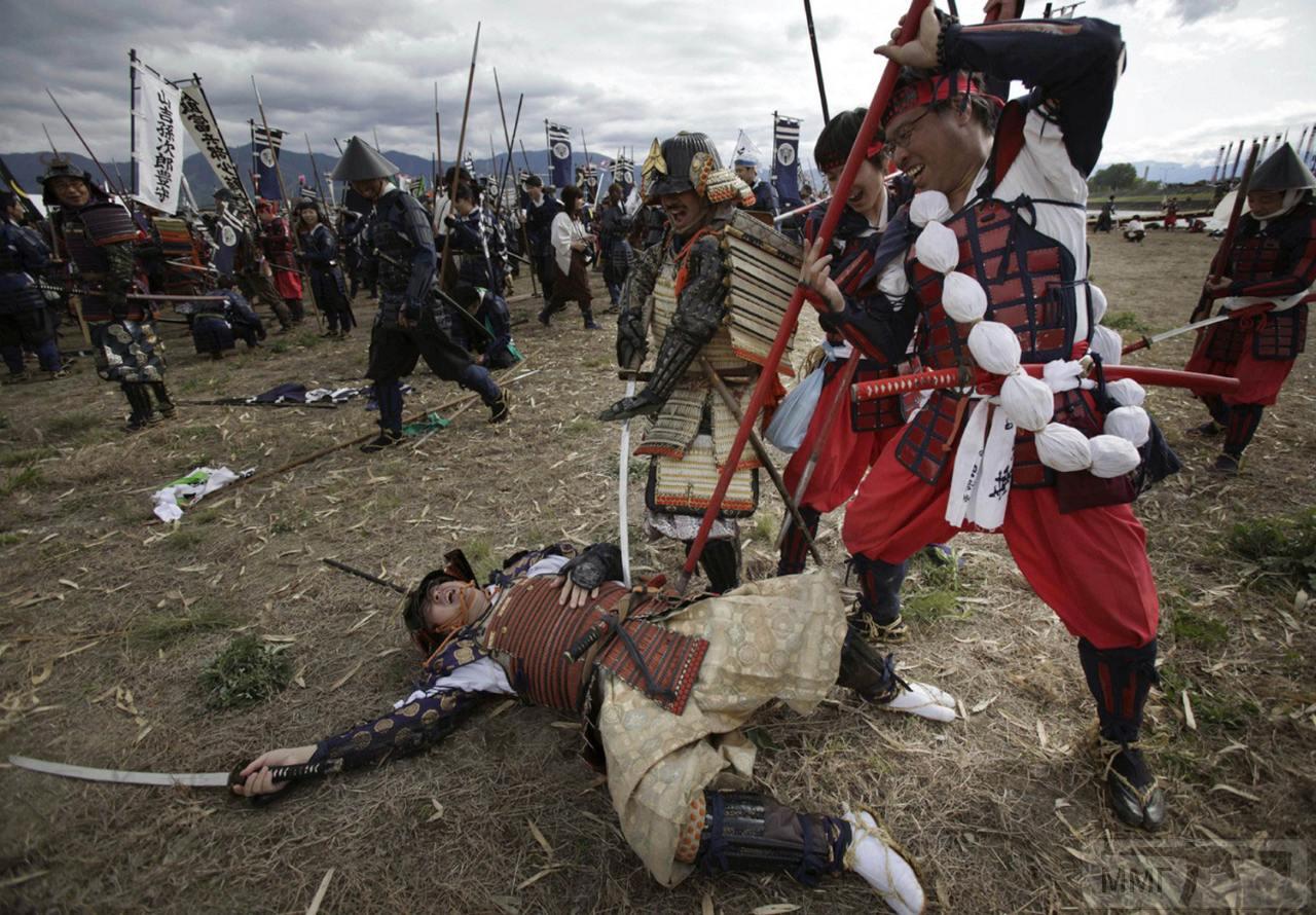 14264 - Япония, реконструкции битвы Каванакадзима.