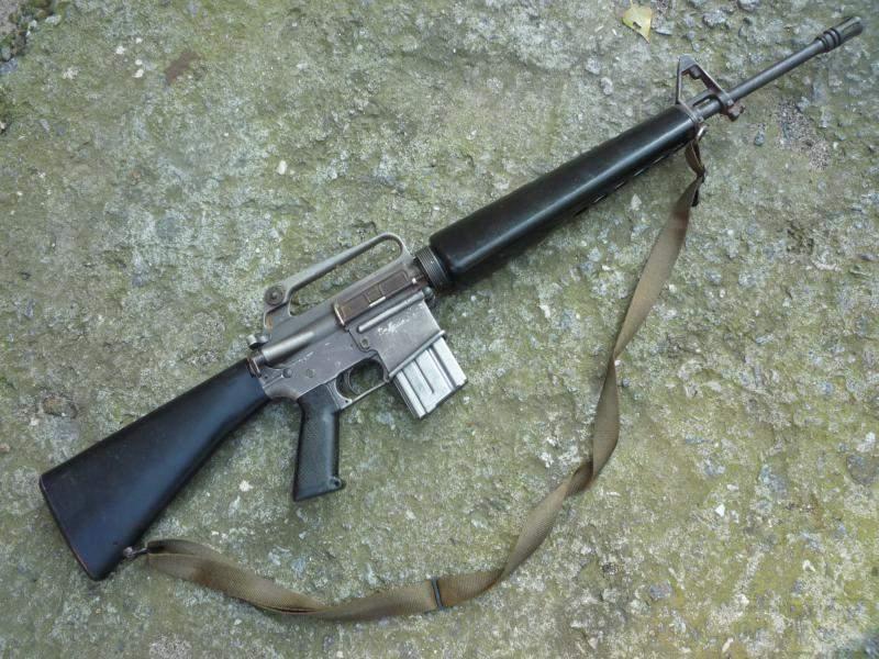 1513 - Семейство Armalite / Colt AR-15 / M16 M16A1 M16A2 M16A3 M16A4