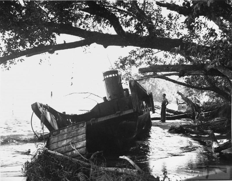 15146 - Военное фото 1941-1945 г.г. Тихий океан.