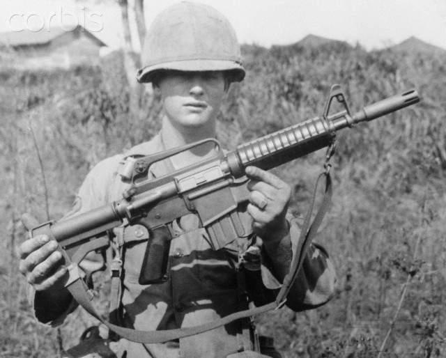 1526 - Семейство Armalite / Colt AR-15 / M16 M16A1 M16A2 M16A3 M16A4