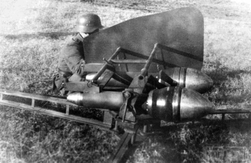 15551 - Реактивный противотанковый гранатомет RPzB.43 Ofenrohr Офенрор / RPzB.54 Panzerschreck Панцершрек