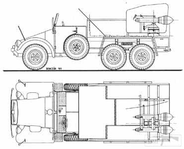 15570 - Реактивный противотанковый гранатомет RPzB.43 Ofenrohr Офенрор / RPzB.54 Panzerschreck Панцершрек