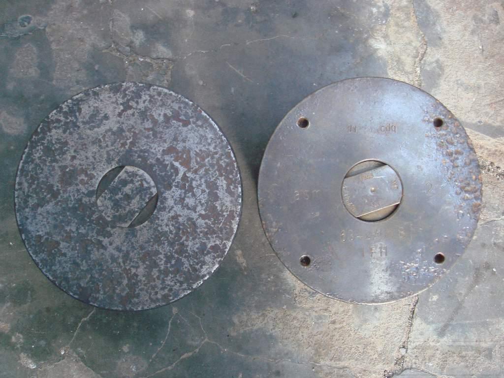 1573 - гильзы и остатки укупорки 105 мм(ганс)