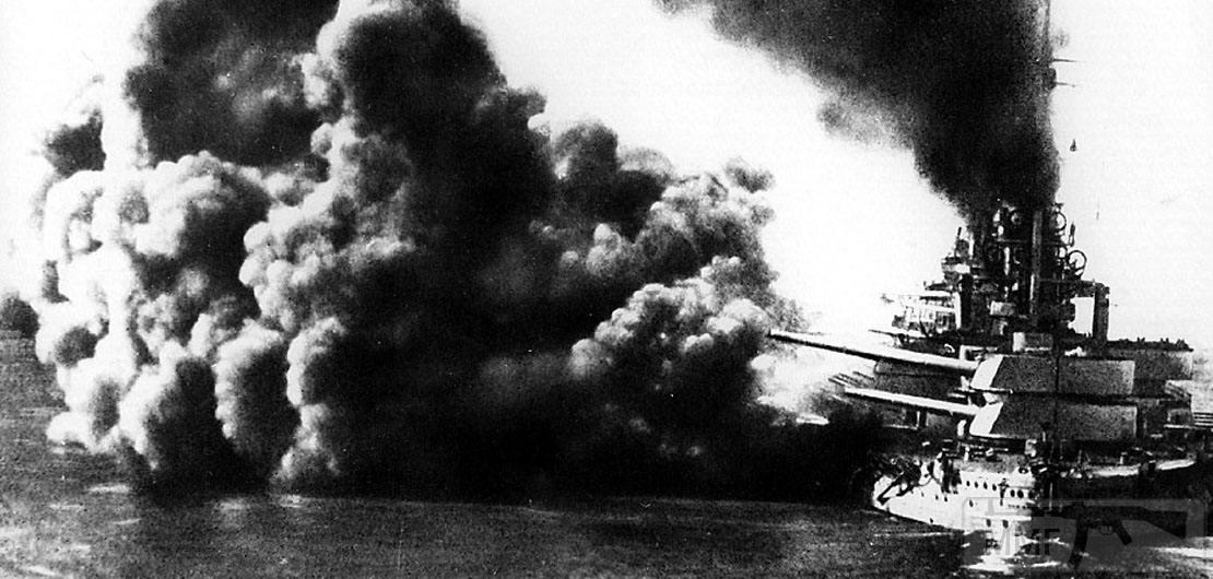 15732 - SMS Friedrich der Grosse ведет огонь 31 мая 1916 г.