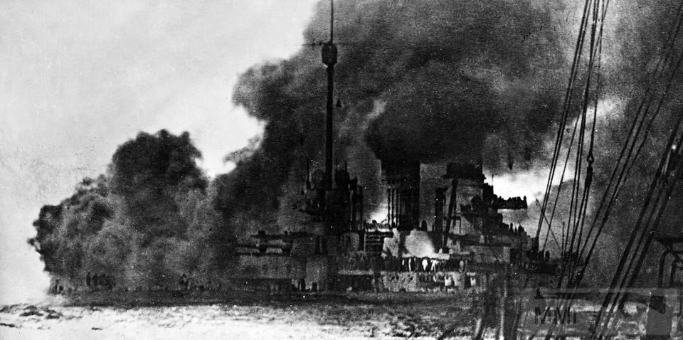 15733 - SMS Seydlitz ведет огонь 31 мая 1916 г.