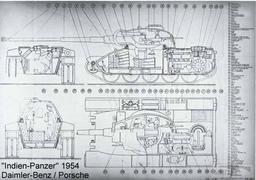 15894 - Не пошедшие в серию послевоенные прототипы