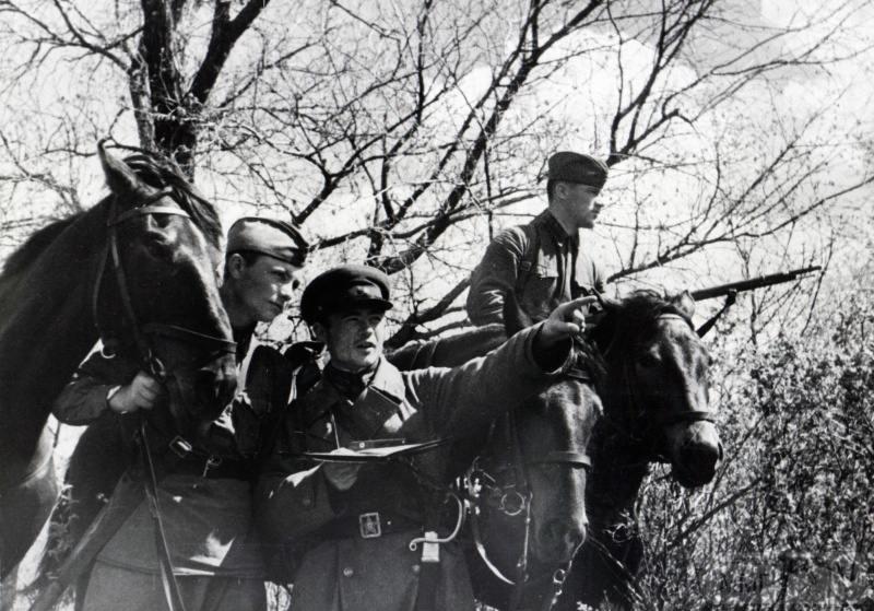 15905 - Военное фото 1941-1945 г.г. Восточный фронт.
