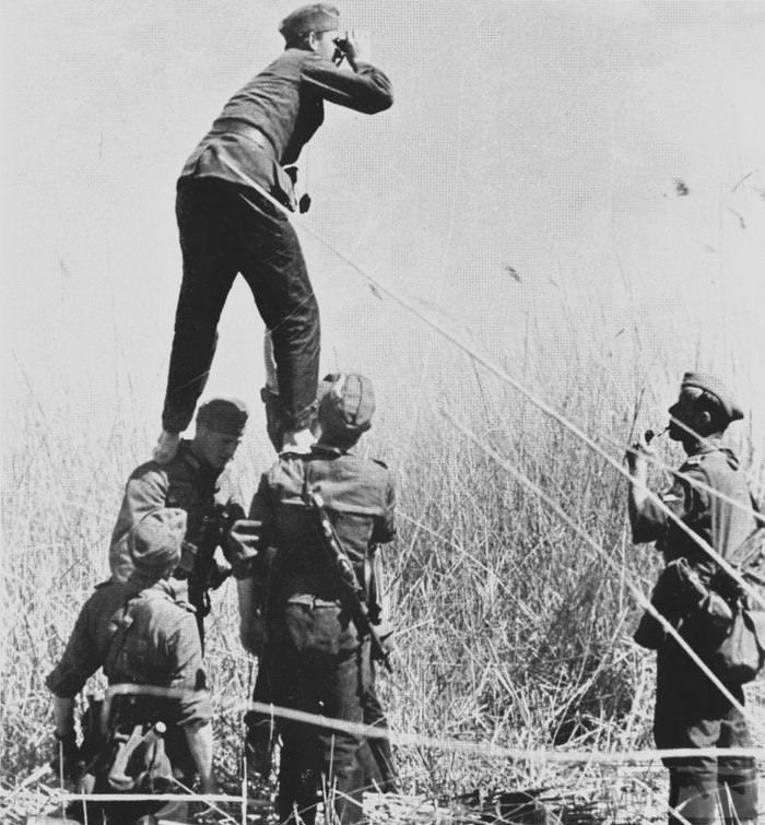 16023 - Военное фото 1941-1945 г.г. Восточный фронт.