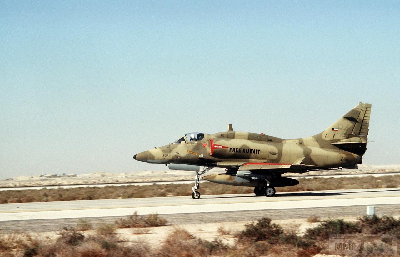 """16283 - Дуглас A-4 """"Скайхок"""" ВВС Кувейта"""