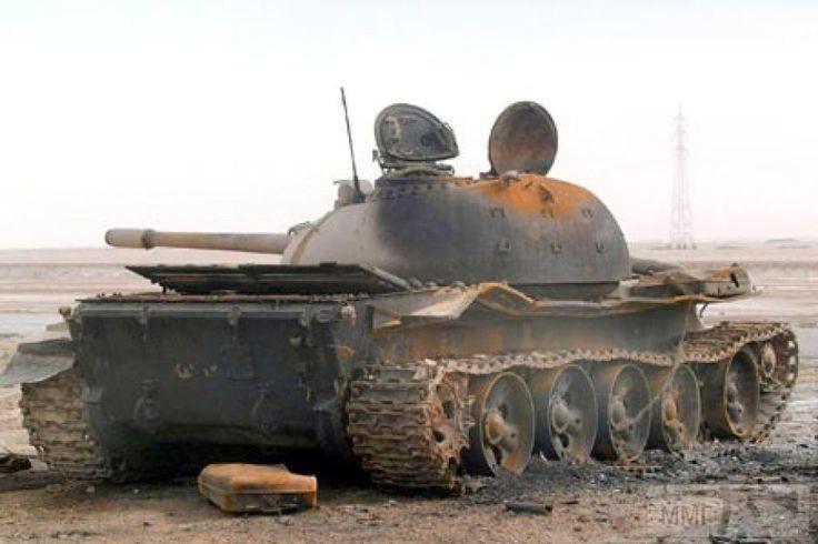 16286 - Подбитый иракский Т-55