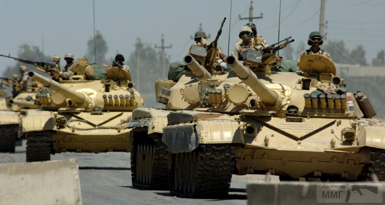 16297 - Иракские танки Т-72