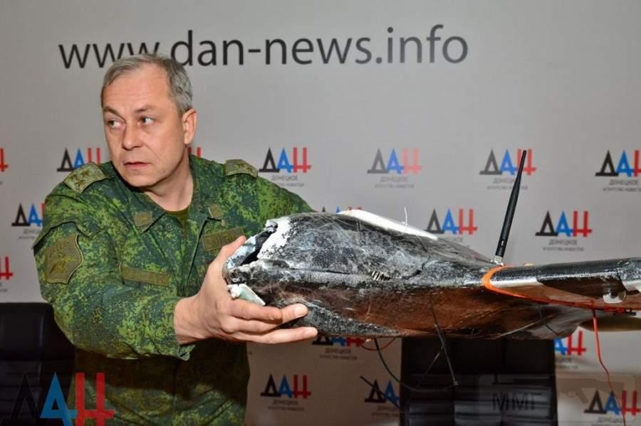 1631 - Командование ДНР представило украинский ударный беспилотник Supervisor SM 2, сбитый над Макеевкой