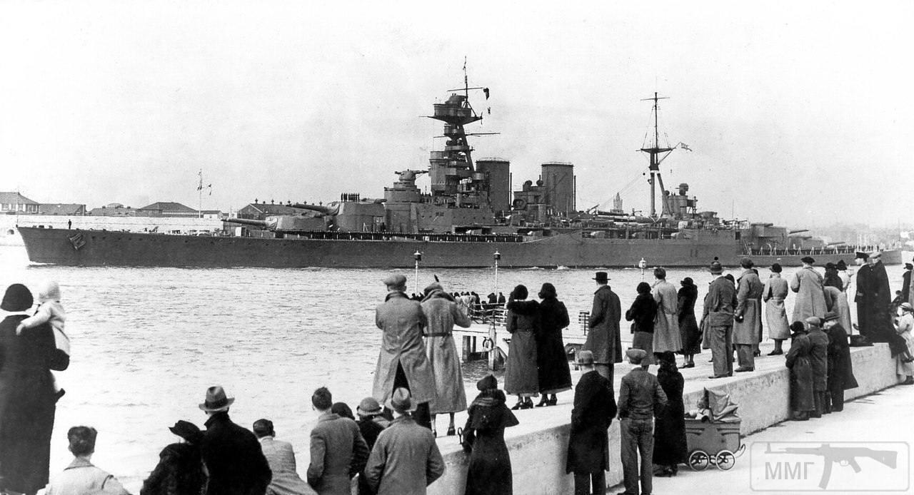 16622 - Броненосцы, дредноуты, линкоры и крейсера Британии