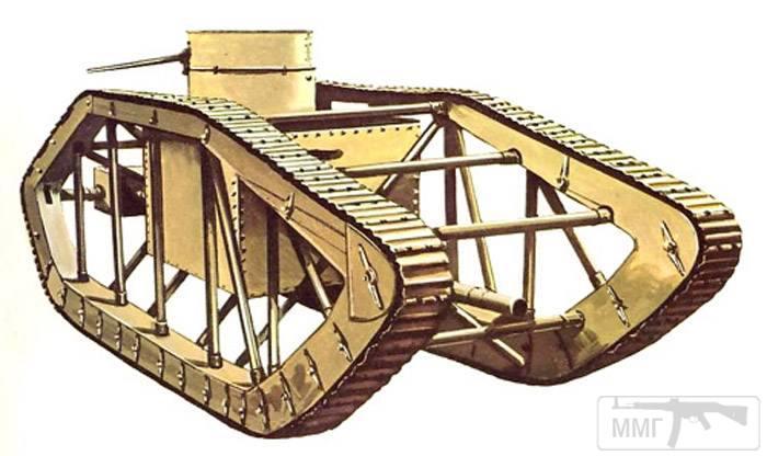 16704 - Легкий танк Pioneer Tractor Skeleton Tank (США).