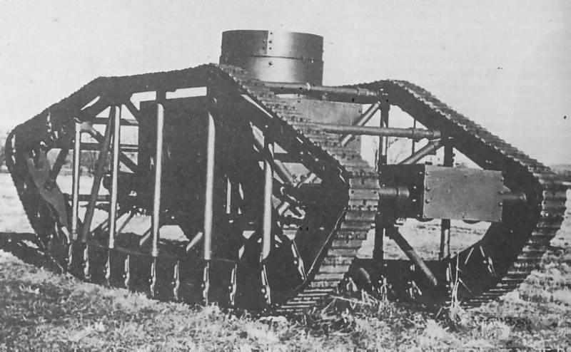 16705 - Легкий танк Pioneer Tractor Skeleton Tank (США).