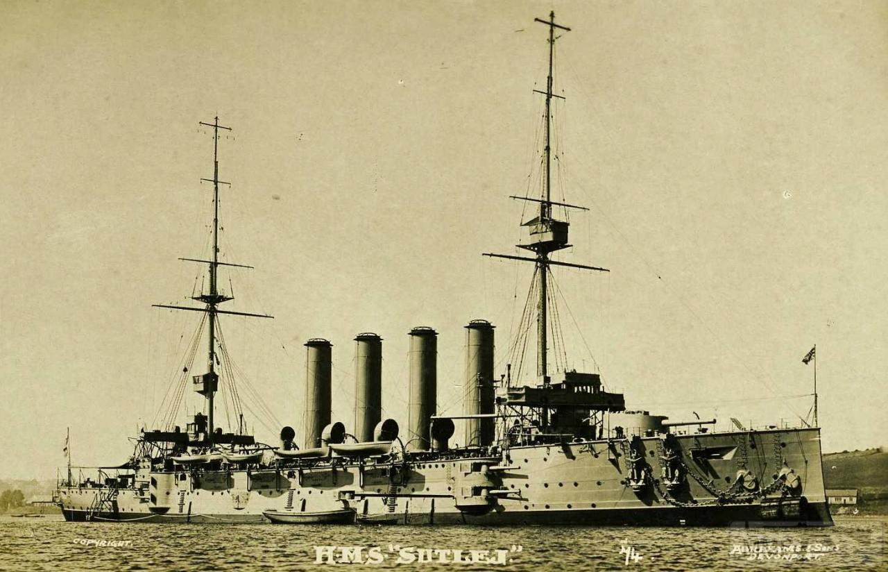 16710 - Броненосцы, дредноуты, линкоры и крейсера Британии