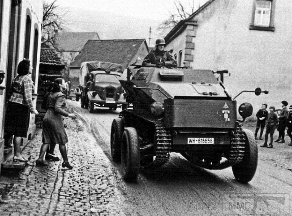 17096 - Военное фото 1939-1945 г.г. Западный фронт и Африка.