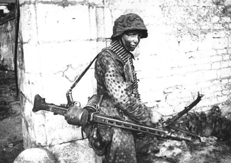 1716 - MG-42 Hitlersäge (Пила Гитлера) - история, послевоенные модификации, клейма...