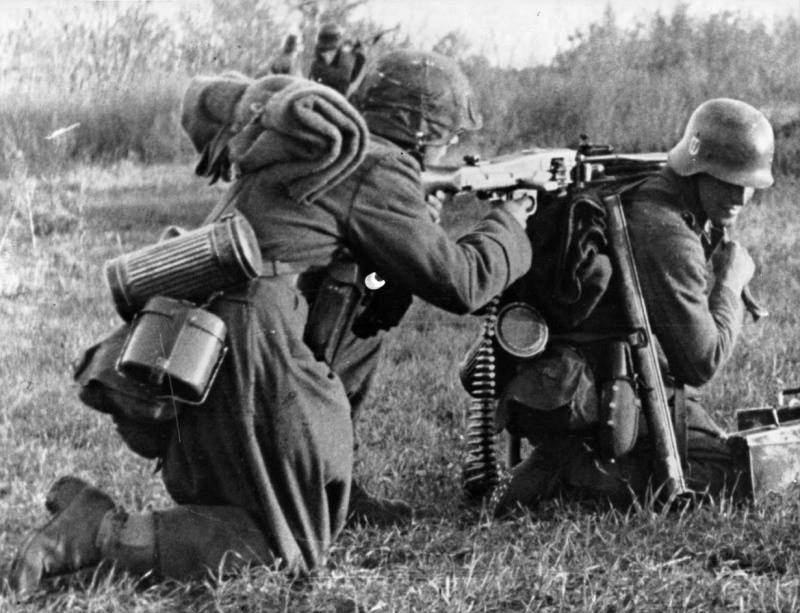 1717 - MG-42 Hitlersäge (Пила Гитлера) - история, послевоенные модификации, клейма...