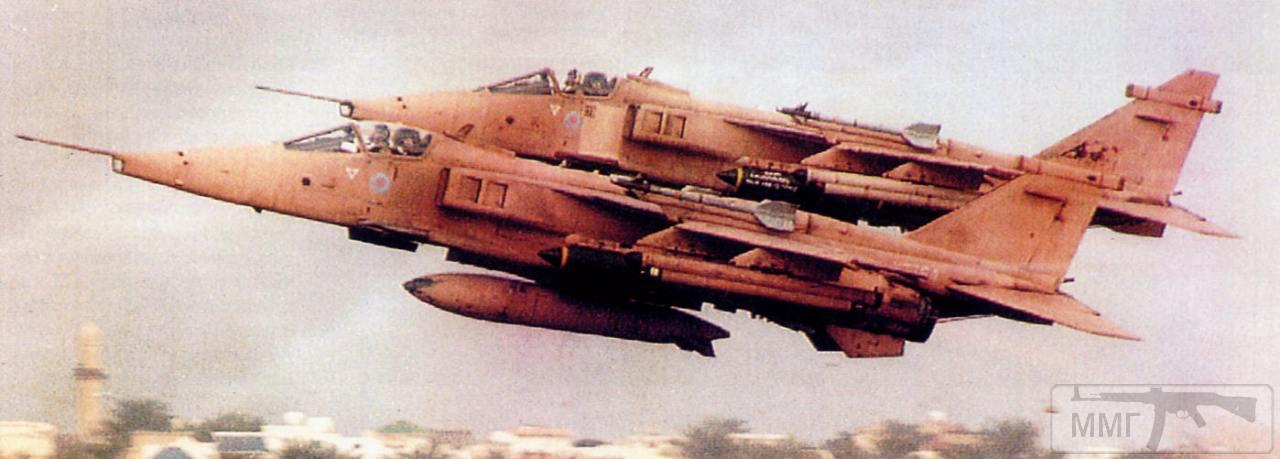 """17171 - Британские самолеты Jaguar GR-1A в операции """"Буря в пустыне"""" 1991 г."""
