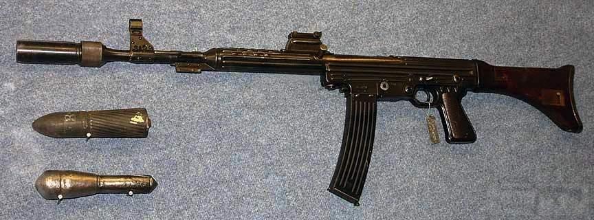 1723 - Sturmgewehr Haenel / Schmeisser MP 43MP 44 Stg.44 - прототипы, конструкция история