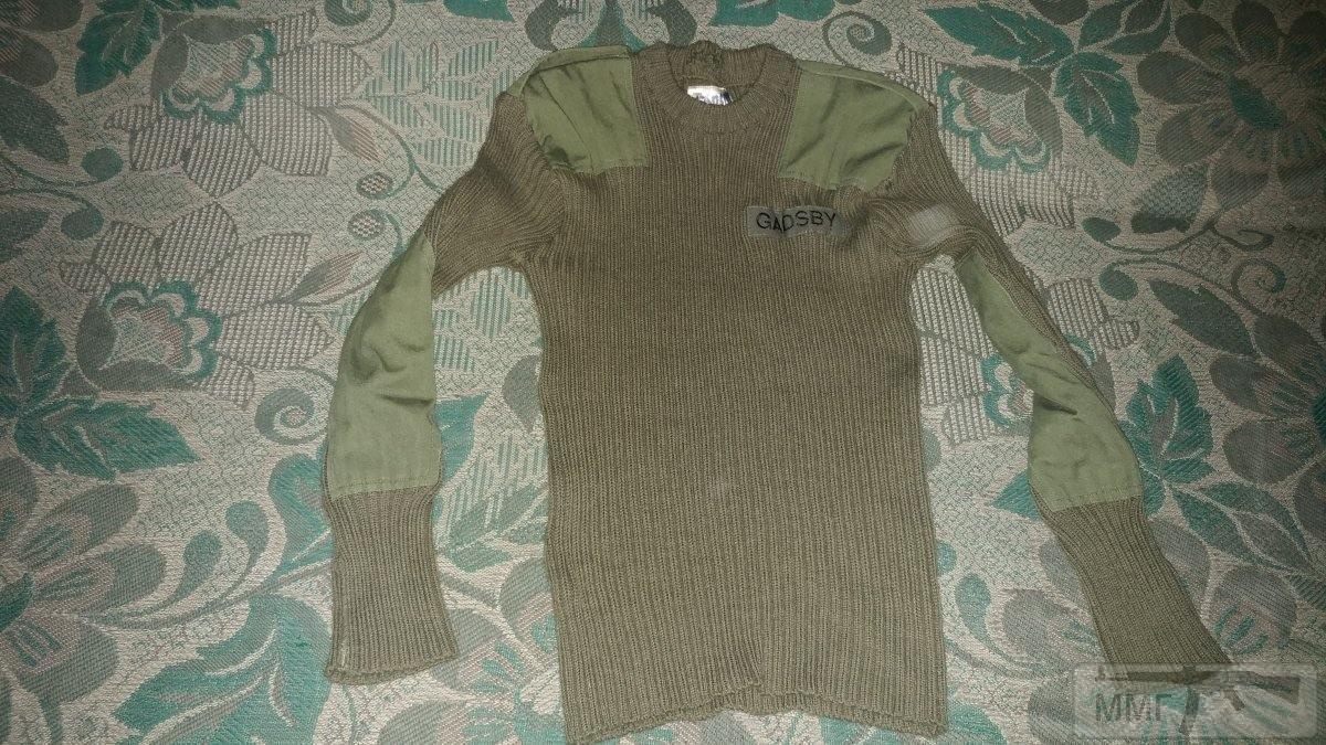17255 - Шерстяной свитер олива . Британские ВС