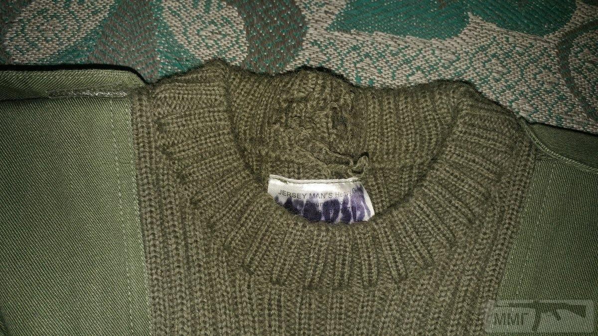 17256 - Шерстяной свитер олива . Британские ВС