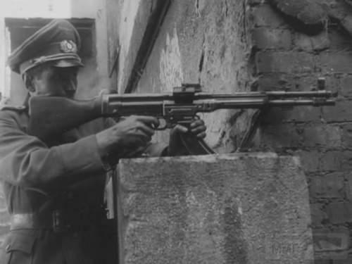 1728 - Sturmgewehr Haenel / Schmeisser MP 43MP 44 Stg.44 - прототипы, конструкция история
