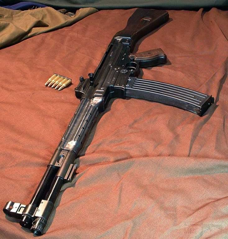 1729 - Sturmgewehr Haenel / Schmeisser MP 43MP 44 Stg.44 - прототипы, конструкция история