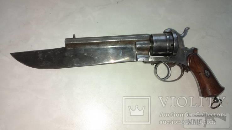 17653 - Шпилечный револьвер — сабля.