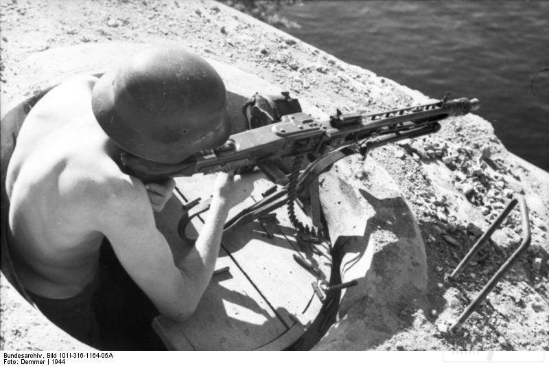 1782 - MG-42 Hitlersäge (Пила Гитлера) - история, послевоенные модификации, клейма...