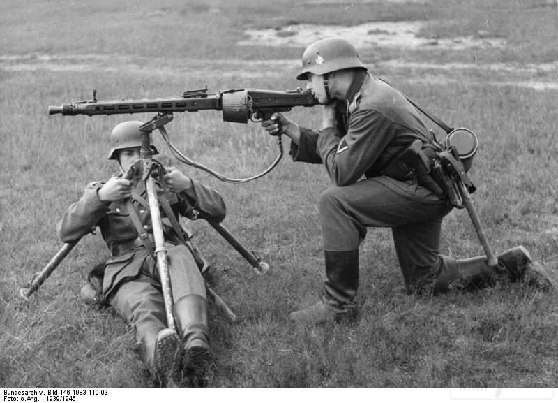 1785 - MG-42 Hitlersäge (Пила Гитлера) - история, послевоенные модификации, клейма...