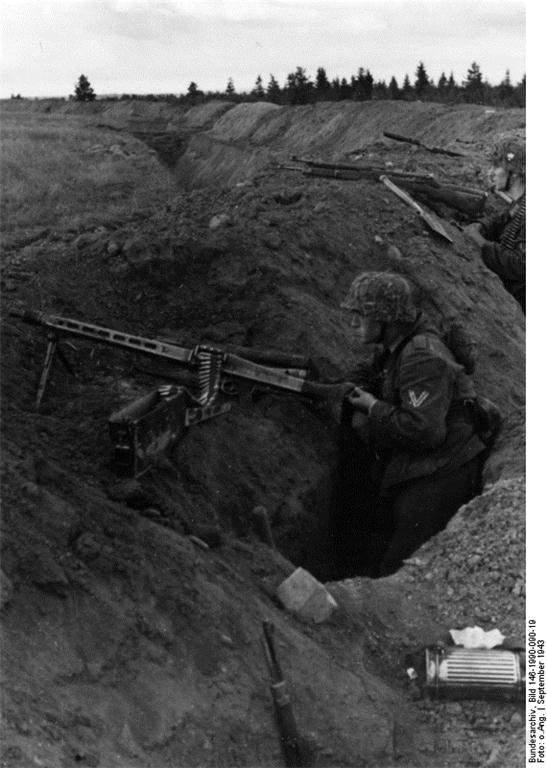 1786 - MG-42 Hitlersäge (Пила Гитлера) - история, послевоенные модификации, клейма...