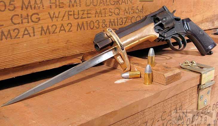 17874 - Шпилечный револьвер — сабля.