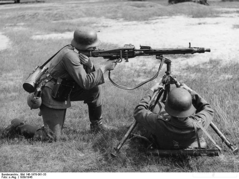 1789 - MG-42 Hitlersäge (Пила Гитлера) - история, послевоенные модификации, клейма...