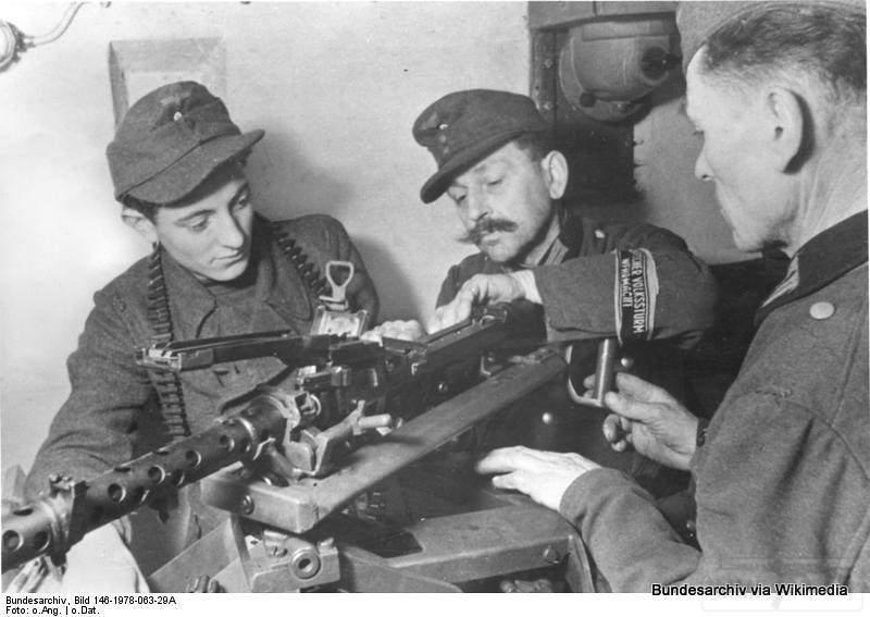 1798 - Все о пулемете MG-34 - история, модификации, клейма и т.д.