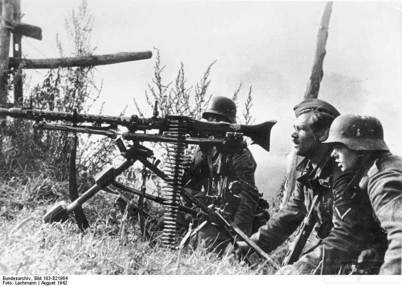 1799 - Все о пулемете MG-34 - история, модификации, клейма и т.д.