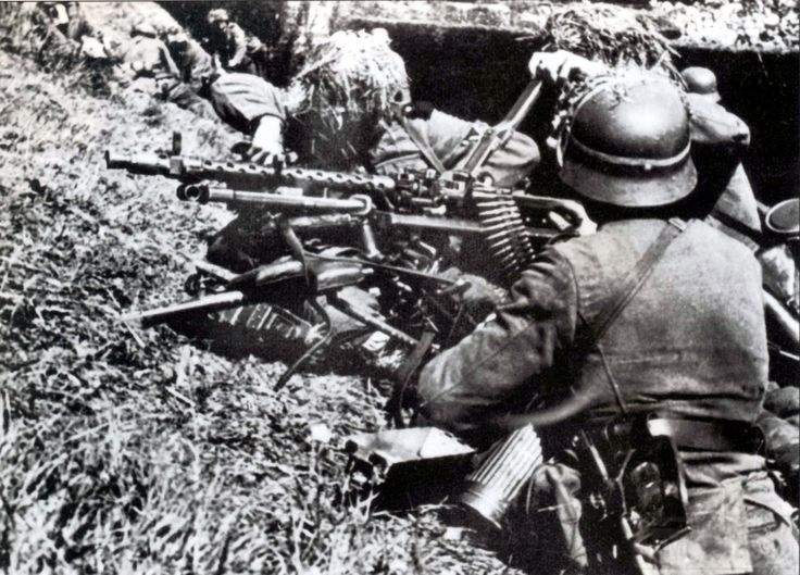 1803 - Все о пулемете MG-34 - история, модификации, клейма и т.д.